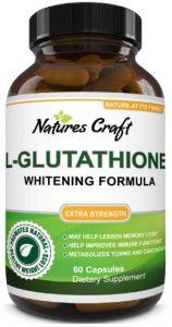Glutathione Skin Whitening Supplement