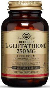 Solgar – Reduced L Glutathione 250