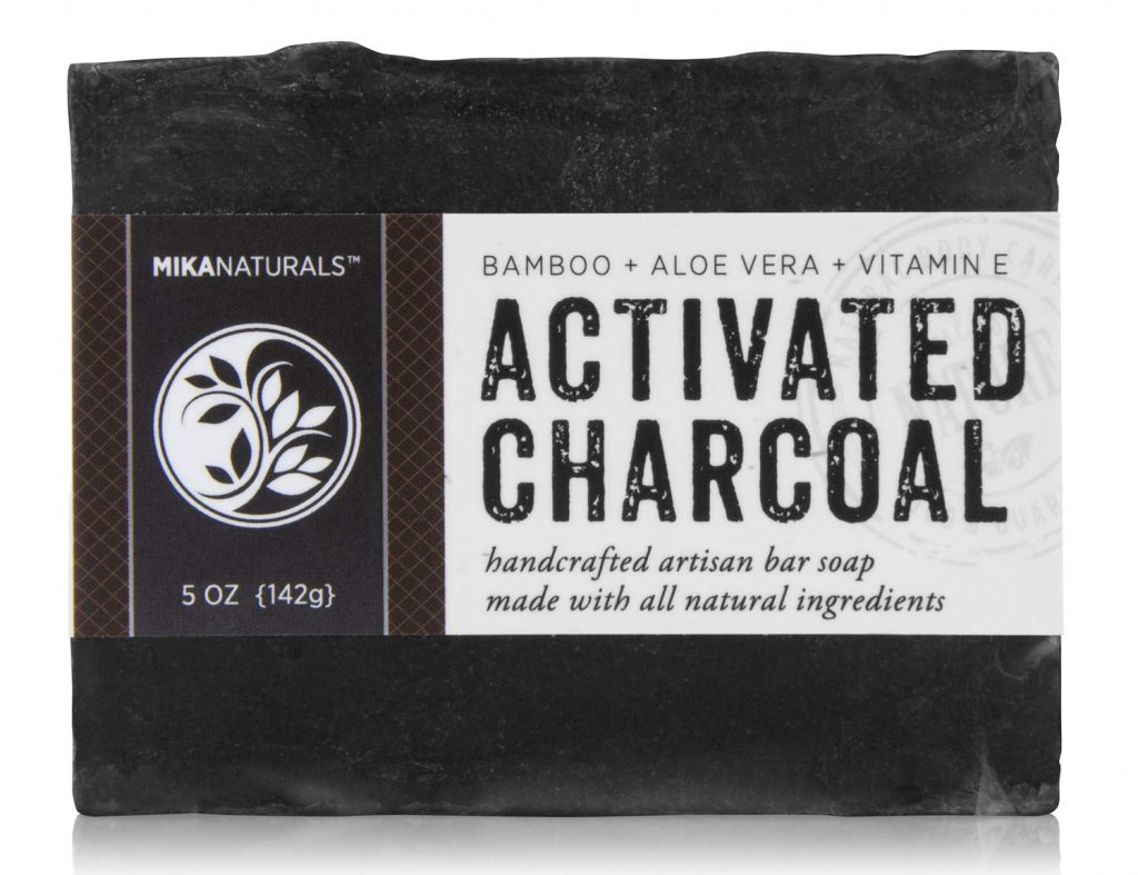 Aloe Vera Soap Made With Added Charcoal And Nutri Plants